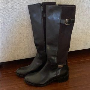 Brand New, Cole Haan Knee High Black Boots Size 9